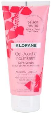 Klorane Hygiene et Soins du Corps Délice Fruité vyživující sprchový gel