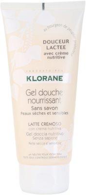 Klorane Hygiene et Soins du Corps Douceur Lactee vyživujúci sprchový gél