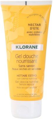 Klorane Hygiene et Soins du Corps Nectar d'été gel de ducha nutritivo