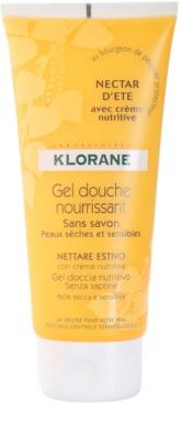Klorane Hygiene et Soins du Corps Nectar d'été vyživující sprchový gel