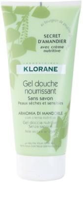 Klorane Hygiene et Soins du Corps Secret D'Amandier gel de ducha nutritivo