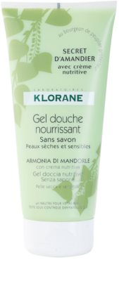 Klorane Hygiene et Soins du Corps Secret D'Amandier tápláló tusoló gél