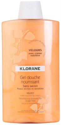 Klorane Hygiene et Soins du Corps Velours odżywczy żel pod prysznic