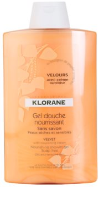 Klorane Hygiene et Soins du Corps Velours vyživující sprchový gel