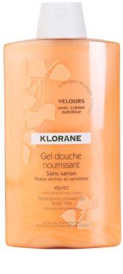 Klorane Hygiene et Soins du Corps Velours овлажняващ душ гел
