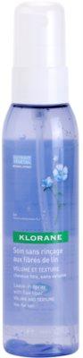 Klorane Flax Fiber spray sem enxaguar para volume e forma 1