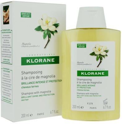 Klorane Magnolia champú para dar brillo 1