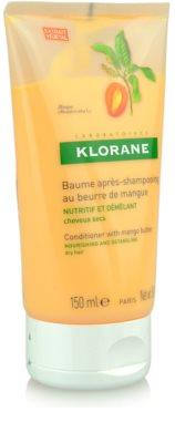 Klorane Mangue acondicionador nutritivo para cabello seco 1