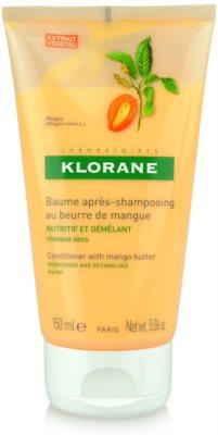 Klorane Mangue acondicionador nutritivo para cabello seco