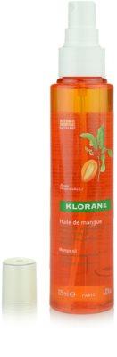 Klorane Mangue óleo para cabelo seco 1