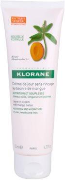 Klorane Mangue crema leave-in nutritie si hidratare