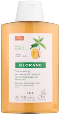 Klorane Mangue hranilni šampon za suhe lase