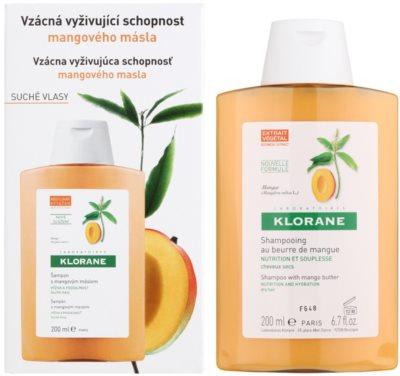 Klorane Mangue champú nutritivo para cabello seco 1