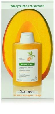Klorane Mangue hranilni šampon za suhe lase 3