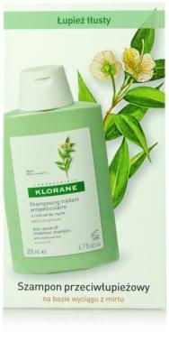 Klorane Myrte šampon proti mastným lupům 2