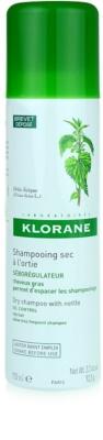 Klorane Nettle сухий шампунь для жирного волосся