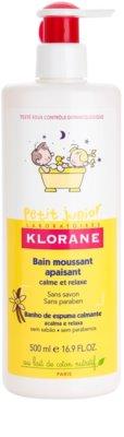 Klorane Petit Junior espuma de baño para niños