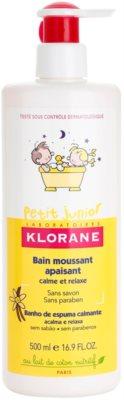 Klorane Petit Junior піна для ванни для дітей