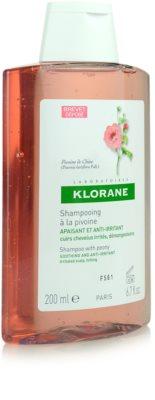 Klorane Pivoine de Chine champô apaziguador para couro cabeludo sensíve 2