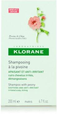 Klorane Pivoine de Chine champô apaziguador para couro cabeludo sensíve 3
