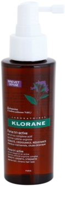 Klorane Quinine sérum para la caída de cabello crónica con triple acción