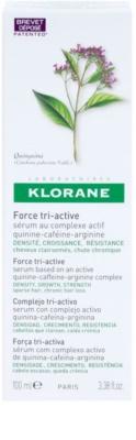 Klorane Quinine sérum para la caída de cabello crónica con triple acción 2