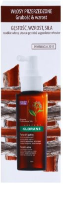 Klorane Quinine sérum para la caída de cabello crónica con triple acción 3