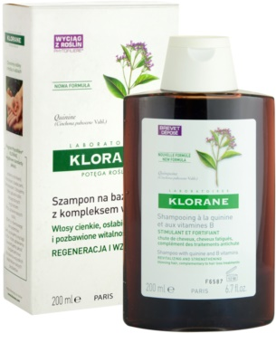 Klorane Quinine Energising Shampoo For Weak Hair 1