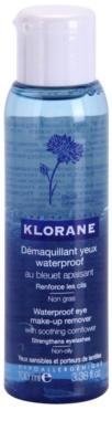 Klorane Yeux Sensibles desmaquillante de ojos bifásico para fortalecer las pestañas