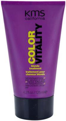KMS California Color Vitality tratament regenerator pentru parul blond cu suvite