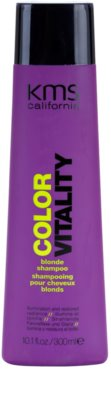 KMS California Color Vitality champú para cabello rubio y con mechas