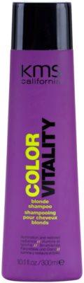 KMS California Color Vitality šampon pro blond a melírované vlasy