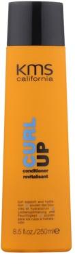 KMS California Curl Up obnovující kondicionér pro vlnité vlasy