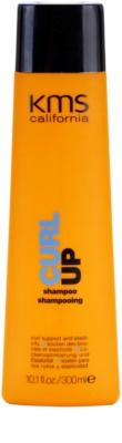 KMS California Curl Up hydratační šampon pro vlnité vlasy