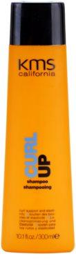 KMS California Curl Up sampon hidratant pentru parul cret