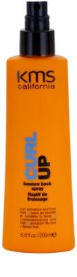 KMS California Curl Up spray utrwalający do włosów kręconych 1