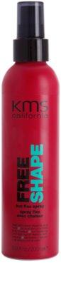 KMS California Free Shape spray do ochrony włosów przed wysoką temperaturą