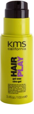 KMS California Hair Play gelový vosk 1