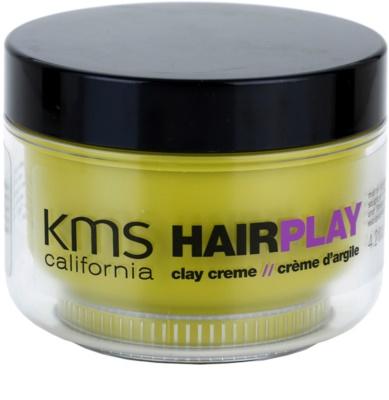 KMS California Hair Play lut modelator pentru un aspect mat