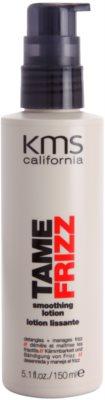 KMS California Tame Frizz uhlazující mléko pro snadné rozčesání vlasů