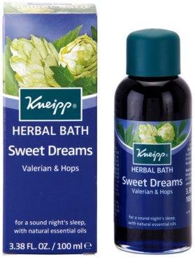 Kneipp Bath olej do kúpeľa pre pokojný spánok 1