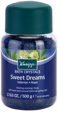 Kneipp Bath sais de banho para um sono tranquilo