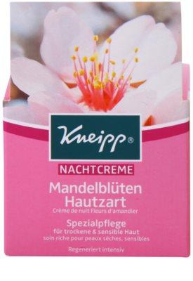 Kneipp Care crema facial de noche para pieles secas y sensibles 2