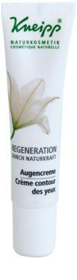 Kneipp Regeneration regenerierende Creme für die Augenpartien