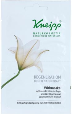Kneipp Regeneration máscara regeneradora