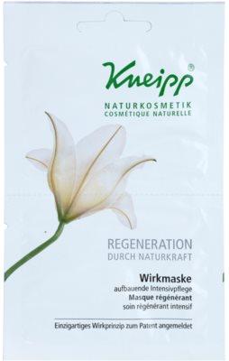 Kneipp Regeneration mascarilla regeneradora