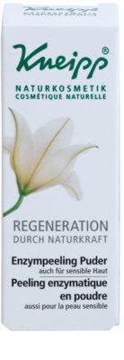 Kneipp Regeneration exfoliant pulbere pentru enzima 2