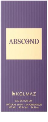 Kolmaz Abscond Eau de Parfum für Herren 5