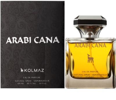 Kolmaz Arabicana eau de parfum férfiaknak
