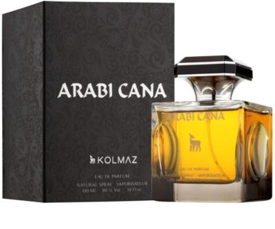 Kolmaz Arabicana eau de parfum para hombre 1
